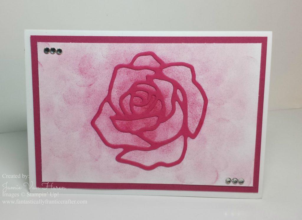 notecard flower